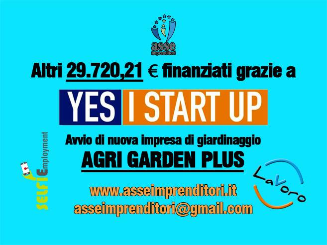 Yes I Start Up di Asseimprenditori – altri 29.720,21 € finanziati