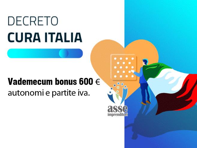Bonus di 600 euro per autonomi e partite iva. Vademecum