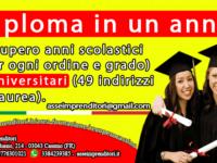 Recupero anni scolastici e universitari Cassino