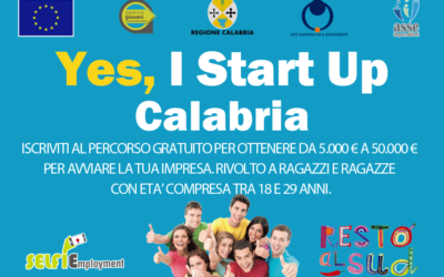 Percorso formazione Yes I Start Up Calabria (VV)