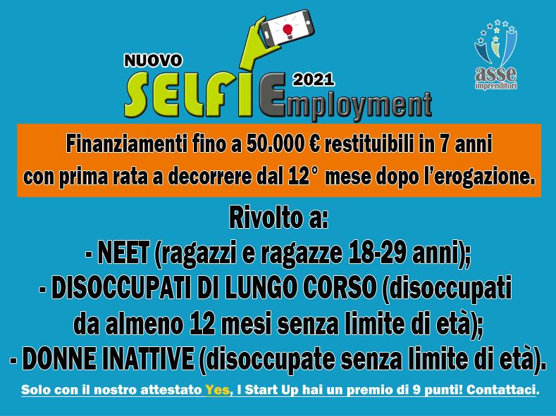 Nuovo Selfiemployment 2021. Ora finanziamenti a Neet, disoccupati di lunga durata e donne inattive